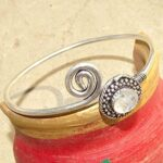 Rainbow-Moonstone-Gemstone-Cuff-BraceletDesigner-BraceletSolid-925-Sterling-Silver-BraceletPear-Shape-BraceletBracel-B084ZRZP4K-2