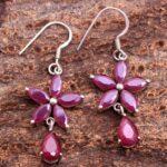Ruby-Gemstone-Sterling-Silver-Drop-Earrings-for-Women-and-Girls-Prongs-Set-Ear-Wire-Earrings-Red-Bridesmaid-Earrings-B08K674JZS-2