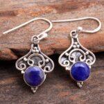 Sapphire-Gemstone-Sterling-Silver-Dangle-Earrings-for-Women-and-Girls-Bezel-Set-Ear-Wire-Earrings-Blue-Bridesmaid-Earr-B08K61742F-2