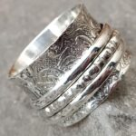 Spinner-Band-Rings-Anxiety-Ring-for-Meditaion-Gift-Ring-for-Mothers-Day-925-Sterling-Silver-Spinner-Band-Rings-for-W-B07R7HHP7R