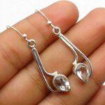 White-Quartz-Gemstone-Sterling-Silver-Drop-Earrings-for-Women-and-Girls-Bezel-Set-Ear-Wire-Earrings-White-Bridesmaid-E-B08K5ZJZY4
