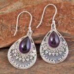 amethyst-Gemstone-Sterling-Silver-Boho-Drop-Earrings-for-Women-and-Girls-Bezel-Set-Ear-Wire-Earrings-Purple-Bridesmaid-B08K659PH1