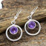 amethyst-Gemstone-Sterling-Silver-Dangle-Earrings-for-Women-and-Girls-Bezel-Set-Ear-Wire-Earrings-Purple-Bridesmaid-Ea-B08K63PH89-2