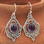 amethyst-Gemstone-Sterling-Silver-Dangle-Earrings-for-Women-and-Girls-Bezel-Set-Ear-Wire-Earrings-Purple-Bridesmaid-Ea-B08K656CG2