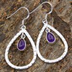 amethyst-Gemstone-Sterling-Silver-Drop-Earrings-for-Women-and-Girls-Bezel-Set-Ear-Wire-Earrings-Purple-Bridesmaid-Earr-B08K5ZMMBJ