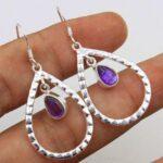 amethyst-Gemstone-Sterling-Silver-Drop-Earrings-for-Women-and-Girls-Bezel-Set-Ear-Wire-Earrings-Purple-Bridesmaid-Earr-B08K5ZMMBJ-2