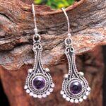 amethyst-Gemstone-Sterling-Silver-Drop-Earrings-for-Women-and-Girls-Bezel-Set-Ear-Wire-Earrings-Purple-Bridesmaid-Earr-B08K6198MJ-2