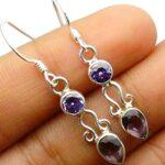 amethyst-Gemstone-Sterling-Silver-Drop-Earrings-for-Women-and-Girls-Bezel-Set-Ear-Wire-Earrings-Purple-Bridesmaid-Earr-B08K61WKHZ