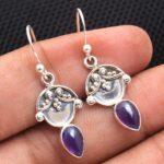 amethyst-Gemstone-Sterling-Silver-Drop-Earrings-for-Women-and-Girls-Bezel-Set-Ear-Wire-Earrings-Purple-Bridesmaid-Earr-B08K62MHV4-2