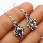 amethyst-Gemstone-Sterling-Silver-Drop-Earrings-for-Women-and-Girls-Bezel-Set-Ear-Wire-Earrings-Purple-Bridesmaid-Earr-B08K66753G