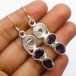 amethyst-Gemstone-Sterling-Silver-Swirl-Drop-Earrings-for-Women-and-Girls-Bezel-Set-Ear-Wire-Earrings-Purple-Bridesmai-B08K625KZS